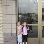 First day of preschool for Daughter and her Cousin.